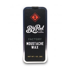 Big Red Moustache Wax - Factory