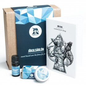 Fit for Vikings  Travel Beard Care Kit - Jökulsarlon