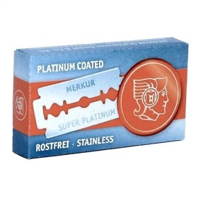 Merkur Super Platinum Double Edge Razor Blades 10-p