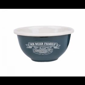 Mr Bear Family Shaving Bowl Enamel