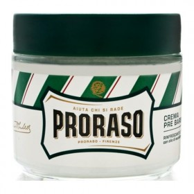 Proraso Pre-Shaving Cream Refreshing and Toning Eucalyptus - barber size
