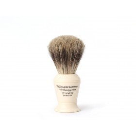 Taylor Of Old Bond Street Shaving Brush Pure Badger, Ivory