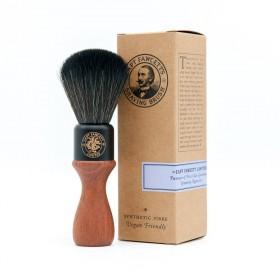 Captain Fawcett Syntethic Fibre Shaving Brush Wooden Handle