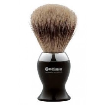 Böker Shave Brush Black Metal