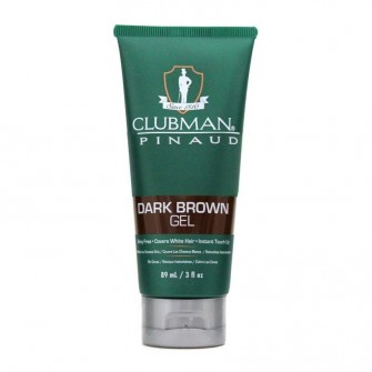 Clubman Pinaud Temporary Colour Gel Dark Brown