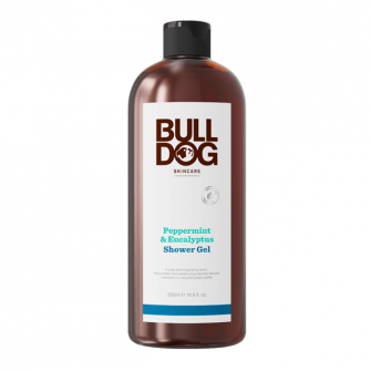 Bulldog Peppermint & Eucalyptus Shower Gel 500 ml