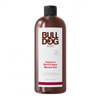 Bulldog Vetiver & Black Pepper Shower Gel 500 ml