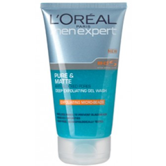 L'Oréal Men Expert Pure & Matt Exfoliating Cleansing Gel