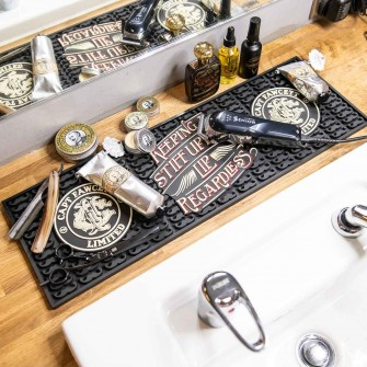 Captain Fawcett Rubber Tool Mat for Barbers