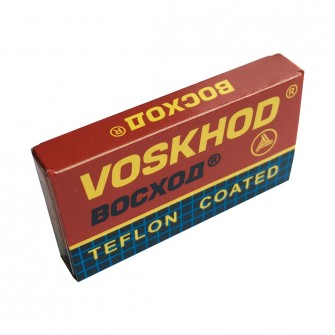 Voskhod Teflon Coated Double Edge Razor Blades 5-p