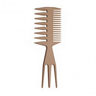 3 in 1Teasing Comb Wide Teeth Biege