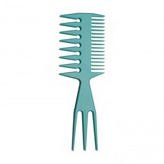 Teasing Comb Wide Teeth Blue
