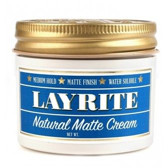 Layrite Natural Matte Cream Barber Size