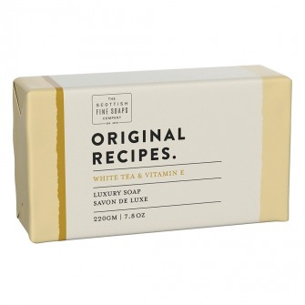 The Scottish Fine Soaps White Tea & Vitamin E Luxury Soap Bar