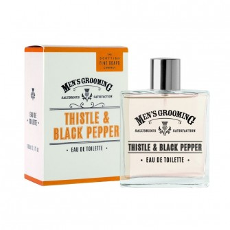 The Scottish Fine Soaps Thistle & Black Pepper Edt