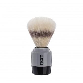 Mühle Nom Mårten Shaving Brush Natural Bristle, black/grey