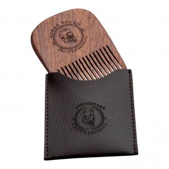 Aarex Beard Comb Mahogany No. 04