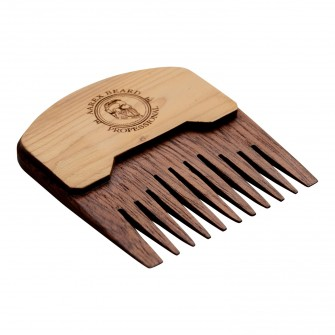 Aarex Beard Comb Mahogany No. 06