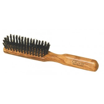 Hermod Beard Brush Olive Wood