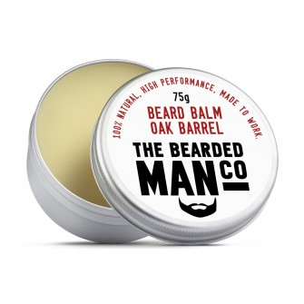 The Bearded Man Company Beard Balm Oak Barrel