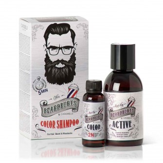 Beardburys Beard Color Shampoo Black