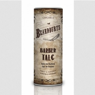 Beardburys barber talc