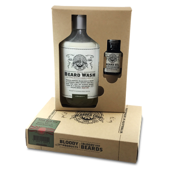 The Bearded Chap Luxe Beard Duo Kit - Brawny