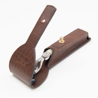 Captain Fawcett Razor Mach 3 + Leather Case