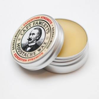 Captain Fawcett Moustache Wax Expedition Strength