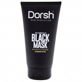Dorsh Peel-Off Black Mask 150ml
