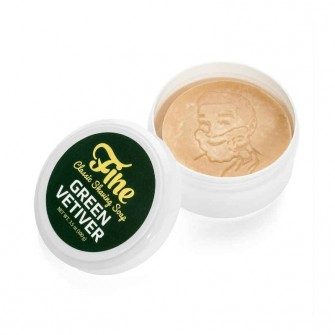 Mr Fines Green Vetiver Shaving Soap