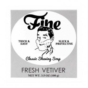 Mr Fines Fresh Vetiver Shaving Soap