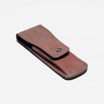 Giesen & Forsthoff Vintage Slim Leather Pouch Safety Razors