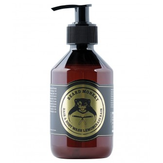 Beard Monkey Hair & Body Shampoo Lemongrass