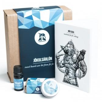 Fit for Vikings Travel Beard Care Kit - Jökulsarlon