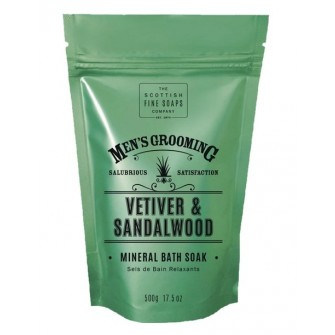 The Scottish Fine Soaps Vetiver & Sandalwood Bath Soak