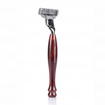 Mondial Basic Shaving Razor Mach3, Tortoise Shell