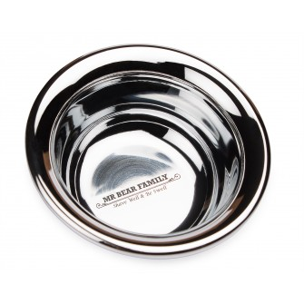 Mr Bear Family Shaving Bowl Steel
