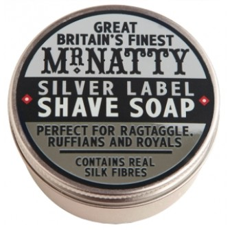 Mr Natty Silver Label Shave Soap