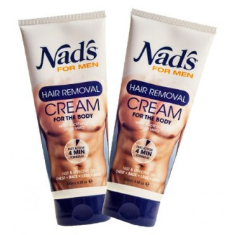Nad's for Men Hair Removal Cream Duo