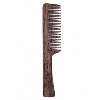 Big Red Beard Comb No.7 - Walnut