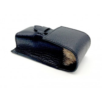 Parker Leather Brush Case