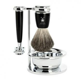Mühle Rytmo Shaving Set Safety Razor + Shaving Brush Noir