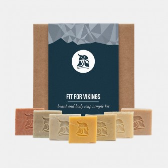 Fit for Vikings Beard & Body Beer Soap Sample Kit
