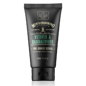The Scottish Fine Soaps Vetiver & Sandalwood Shave Cream
