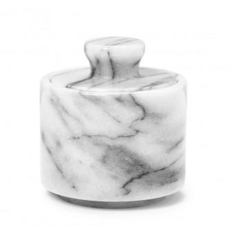 Shaving Soap Bowl White Marble