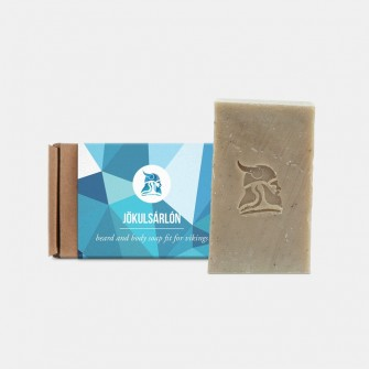 Fit for Vikings Beard & Body Beer Soap Jökulsárlón