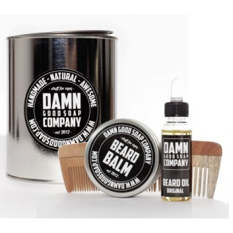 Damn Good Soap Company Beard Kit with Comb