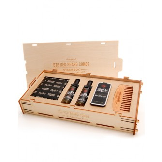 Big Red Beard Combs Stash Kit