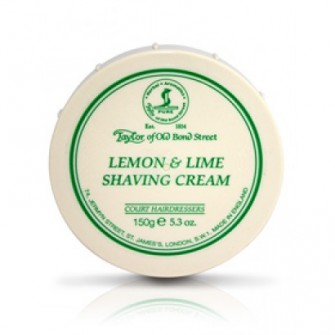 Taylor Of Old Bond Street Shaving Cream Lemon & Lime